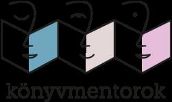 Konyvmentorok logo szines
